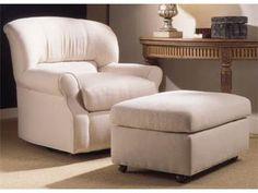 Lexington Home Brands Semi-Attached Top Ottoman 7929-44