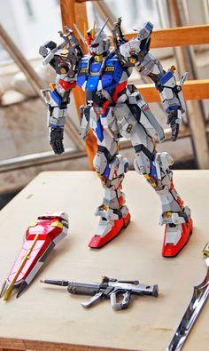 PG 1/60 GAT-X105 Strike Gundam - Customized Build