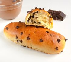 brioches pépites de chocolat, baguette viennoise chocolat, goûter, viennoiserie,