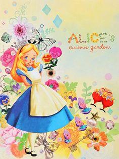 Maria surkova alice in wonderland Disney And More, Disney Love, Disney Magic, Disney Art, Alicia Wonderland, Adventures In Wonderland, Inspiration Artistique, Dibujos Cute, Were All Mad Here
