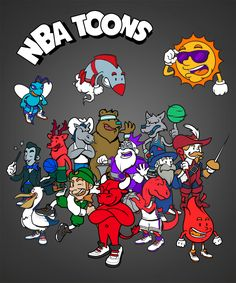 Sneaking in just before we see the conclusion of the 2014/15 NBA season, graphic studio Baboon Creation has re-rendered the majority of the NBA Leagues team roster with cutesy cartoon character mascots. Head to Baboon Creation to see the whole lineup, or scope them below. http://kidsonstoke.com/?p=1872