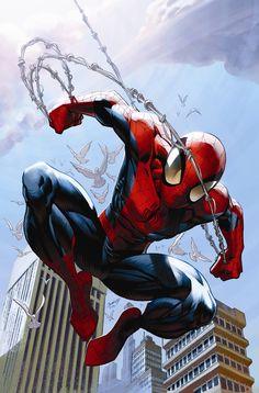 #Spiderman #Fan #Art. (Death of Spider-Man Vol.4 #156 Cover By: Mark Bagly. ÅWESOMENESS!!!™ [THANK U 4 PINNING!!]