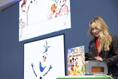 On Thursday (May 5, 2016), actress and singer Sabrina Carpenter hosted an event debuting Disney Art Academy, the latest game for Nintendo 3DS,  at the N