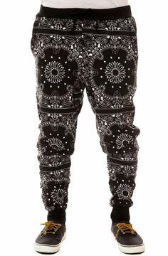 Amazon.com: Elwood Men's Bandana Tapered Jogger Pants: Clothing