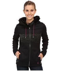 Spyder | Black Soiree Hoodie Faux Fur Mid Weight Core Sweater | Lyst
