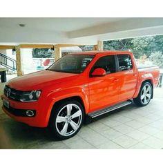 #Amarok #DasAuto #Volkswagen Vw Amarok V6, Volkswagen Amarok, Vw Pickup, Pickup Trucks, Dropped Trucks, Convertible, Buick Riviera, Car Colors, Top Cars