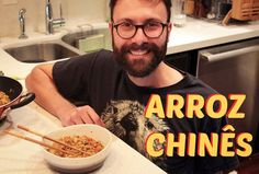 NEW VIDEO! Chinese Rice! The real challenge is to eat it all with the chopsticks /// NOVO VIDEO! Arroz chinês! O desafio de verdade é comer tudo com hashi. /// LINK IN BIO   #Instafood#food #recipe#recipeoftheday#recipes#receita #gourmet#diegourmet#channel#youtube#gastronomia #gastronomy #cozinha #kitchen #cooking #cozinhando #cook #chef #rice #chinese #asian #asianfood #arroz #chines #asiatica #vegetariano #vegetarian #vegan #vegano by diegourmettv