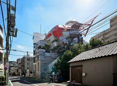 Aoyama Architect College Building No.1 (青山製図専門学校 1号館) / Architect : Makoto Watanabe (設計:渡辺誠)