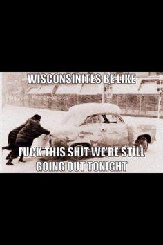 Wisconsin winter/snow humor