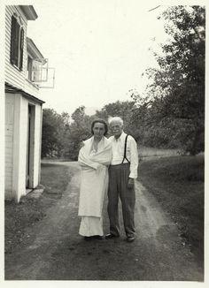 Georgia O'Keeffe and Alfred Stieglitz, undated, unidentified photographer, Georgia O'Keeffe Research Center