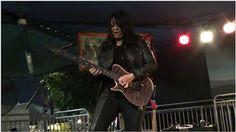"Rosie Aldrete Jen Paro: Cougrzz Rock! Black Magic Woman - smoking hot soloing!!   Cougrzz Rock with their rendition of Santana's ""Black Magic Woman"" at the Santa Fe Springs Swap Meet November 25 2016. Santana - Black Magic Woman - performed by Cougrzz Rock - SFS CA Jen Paro Rosie Aldrete"