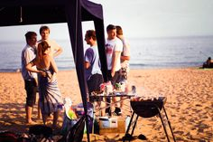 Amuzo's Bournemouth beach BBQ Bournemouth Beach, Beach Bbq, Sea, Studio, The Ocean, Studios, Ocean