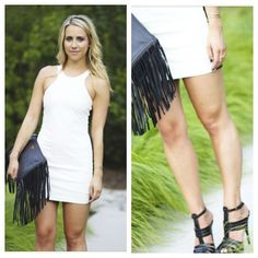 {#winterwhite leather} on the blog today     #ootd #leatherdress #fashionblogger... #liketkit http://liketk.it/7ew @LIKEtkit