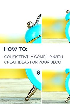 How to Consistently Come up With Great Post Ideas for Your Blog http://www.problogger.net/archives/2014/02/03/content-week-how-to-consistently-come-up-with-great-post-ideas-for-your-blog/