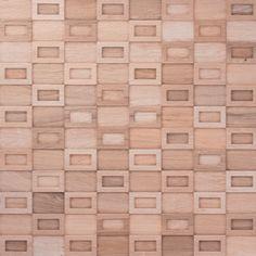 Cerâmica PortoBello - imagem MOS MARCHETARIA ECOLLECTION 60X60 NAT RET - Linha: Max Mosaics - Porcelanato Esmaltado - Mosaico - Código de Referência: 23136E Cor: Bege