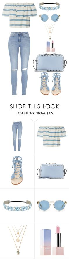 """""""Untitled #93"""" by rita-tahchi ❤ liked on Polyvore featuring Mara Hoffman, Cornetti, Valentino, Ralph Lauren and Sephora Collection"""