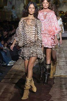Roberto Cavalli Spring 2005 Ready-to-Wear Fashion Show - Nicole Trunfio