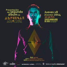 Lanzamiento de nuestro segundo álbum AUTORREVERSE. 18 dic. 20:30 hrs. Boletos en ticketmaster.com.mx