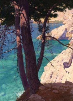 Edward Okun The landscape from Dubrovnik