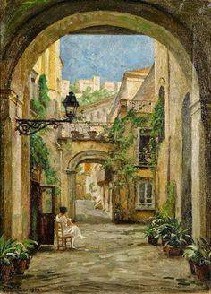 Paul Gustave Fischer, Naples