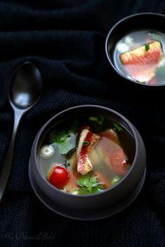 Soupe de rougets thaïe, rapide, parfumée et légère #sansgluten