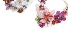 Bouquet necklaces