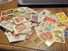 150  MIXED USED STAMP LOT-ON