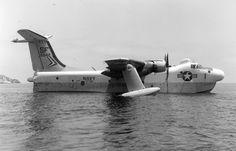 Martin P5M-2 Marlin BuNo 135542 by Batman_60 Via Flickr: (redesignated SP-5B 1962) 'SF 1' of Patrol Squadron VP-48 probably in San Diego Bay.