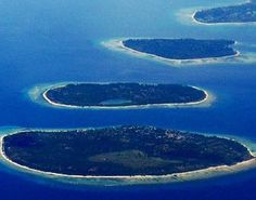 Gili Islands in Indonesia –