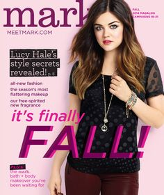 Our Fall Collection launched TODAY featuring mark. Brand Ambassador Lucy Hale! Shop now on: http://www.youravon.com/dorita