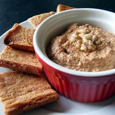 Queijo vegano, sem lactose, feito com nozes - fácil de preparar e muito saboroso!