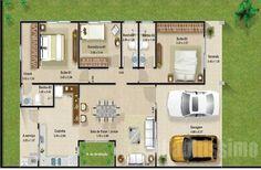 planta-para-casas-com-tres-quartos