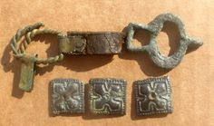Viking age / Finnish / Viiking belt parts