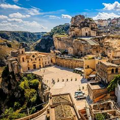 Stunning cliffside views in Matera, Italy. Photo courtesy of impakter on Instagram.