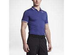 Polo de golf de ajuste entallado para hombre Nike Dry Tipped 4e453d46147ab