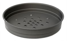Manpans USA Made Hard-Anodized 12 Inch Perforated Deep Dish Pizza Pan *** Tried it! Love it! Click the image. : Baking pans