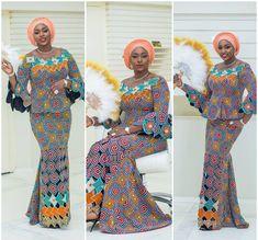 Beautiful Ankara Skirt and Blouse Styles : .Check It Out .Beautiful Ankara Skirt and Blouse Styles : Check It Out African Dresses For Kids, African Maxi Dresses, African Fashion Ankara, Latest African Fashion Dresses, African Print Fashion, Africa Fashion, African Attire, African Wear, African Women
