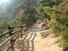 Barr Trail - Colorado Springs hiking.