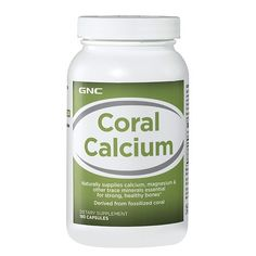 GNC Coral Calcium - take these