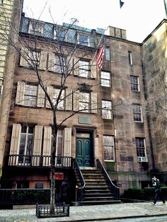 Tucked away on East 20th St in Manhattan, this townhouse is the birthplace and childhood home of President Theodore Roosevelt.