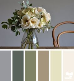 { flora palette } image via: @grainandfeather