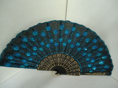 Antique Time Traveling Hand Fan from China