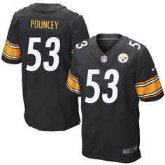 fc0cc7ff8 7 Best Steelers  53 Maurkice Pouncey Home Team Color Authentic Elite ...