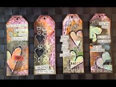 Mixed Media Tag Giveaway: February 2015 - YouTube