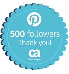 500 Followers!