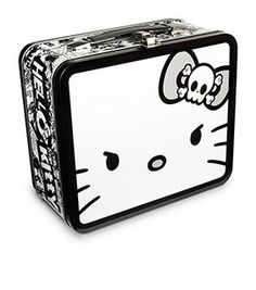 3cdee4ac8c Hello Kitty Angry Face Lunch Box Hello Kitty Items