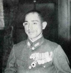 Imperial Japanese Army tank commander Colonel Shimada