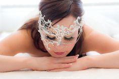 Beautiful Masquerade Masks | Luxury Wedding Masquerade Masks - PHANTOM