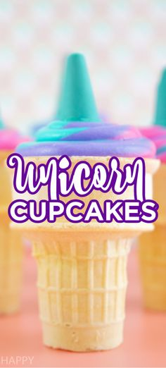 Unicorn Cupcake. These super simple cupcakes will be the hit of any magical party. Unicorn parties call for unicorn cupcakes. These are fun, easy and delicious. Easy Cupcake Recipes, Easy Recipes, Best Party Snacks, Simple Cupcakes, Healty Dinner, Rainbow Food, Unicorn Cupcakes, Party Trays, Most Delicious Recipe