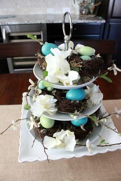 MY BHG INSPIRED EASTER CENTERPIECE